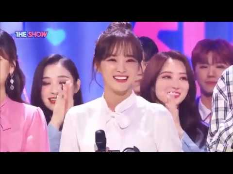 "200324 Gugudan's Sejeong Plant"" first win on SBS MTV THE SHOW"