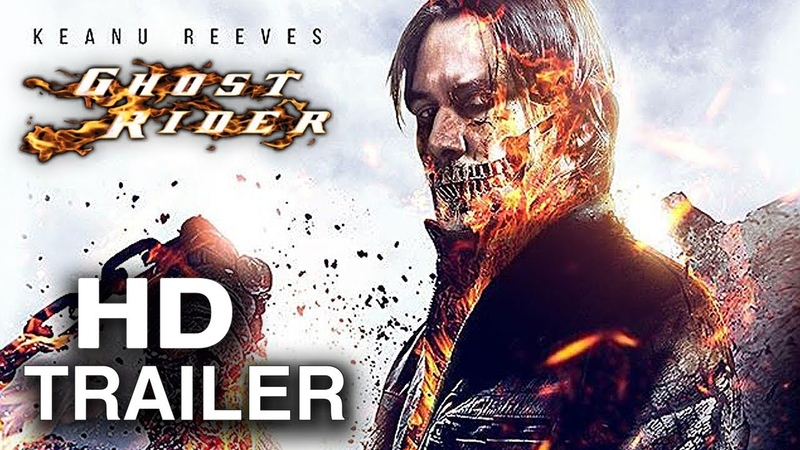 GHOST RIDER Teaser Trailer Concept 2021 Keanu Reeves Marvel Comics Parody Movie