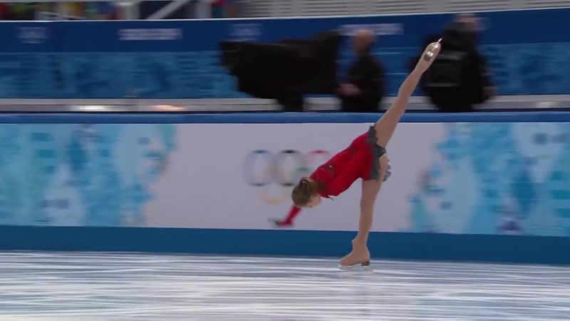 Юлия Липницкая* Произвольная программа Командный турнир XXII Зимние Олимпийские игры