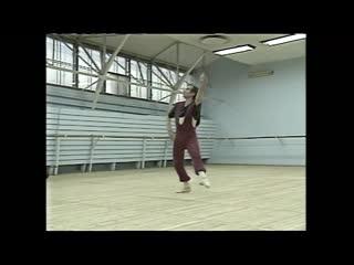 Рудольф Нуреев, приезд в Россию, 1989 год. Съёмки американского телевидения.
