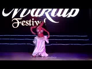 Saida --Best Bellydancer Maktub Festival Punta Cana 2018