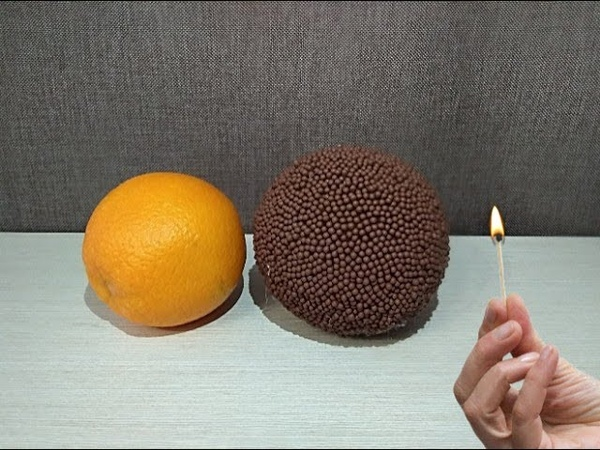 Orange In Matches Match Chain Reaction Amazing Fire Domino