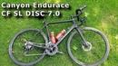 Обзор шоссера Canyon Endurace CF SL DISC 7.0