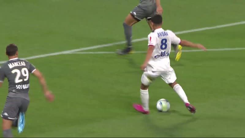Лион - Анже. Olympique Lyonnais - Angers SCO - Résumé - (OL - SCO) 2019-20