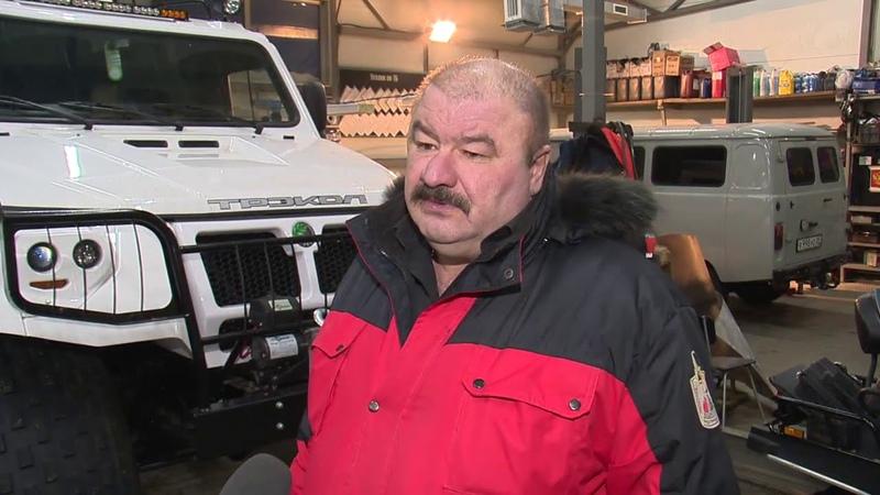 В Тазовский доставлена новая внедорожная техника для местного поисково-спасательного отряда
