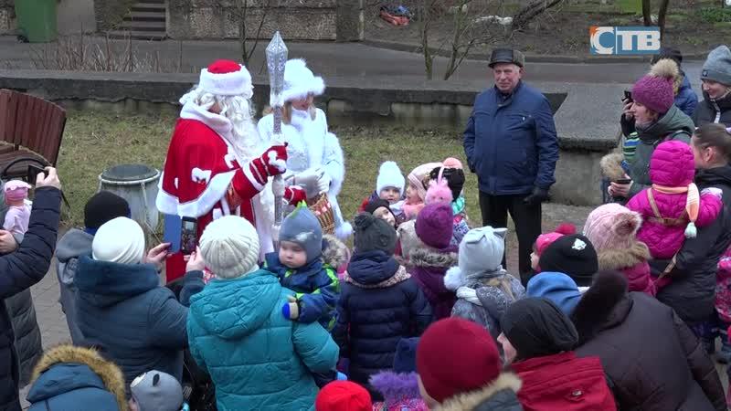 09 01 2020 Рождество в сосновоборских дворах и Андерсенграде