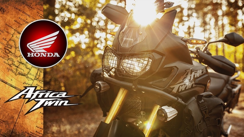 Лучший в мире туристический мотоцикл! Honda Africa Twin/