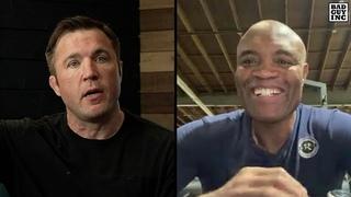 Anderson Silva talks Boxing Julio Cesar Chavez...