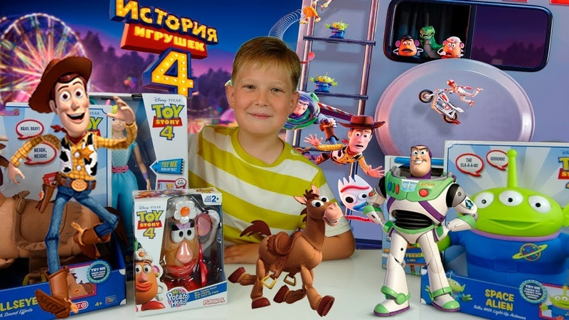 История Игрушек 4    Обзор Персонажей Мультфильма    Toy Story 4