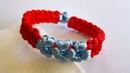 [macrame bracelet] HƯỚNG DẪN LÀM VÒNG TAY HÌNH BÔNG HOA, Flower Shaped Bracelet tutorial