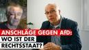 Chronik der linken Gewalt 2019 Rechtsstaat schweigt bei Angriffen auf AfD Jens Maier MdB