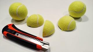 ЧТО ВНУТРИ теннисный мяч АСМР | WHAT's INSIDE an ASMR tennis ball