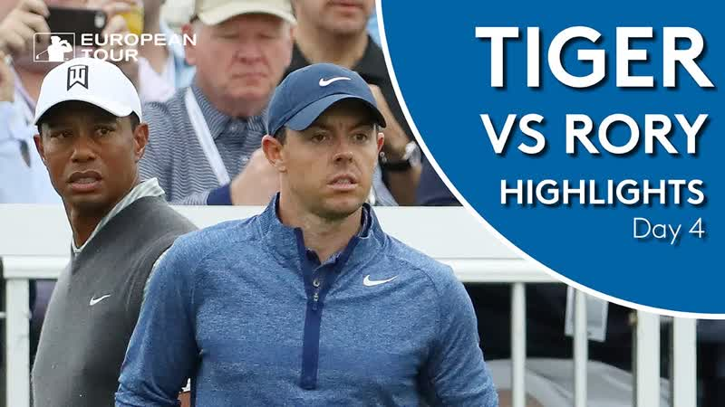 Tiger Woods vs Rory McIlroy Highlights ¦ 2019 WGC Dell Technologies Match