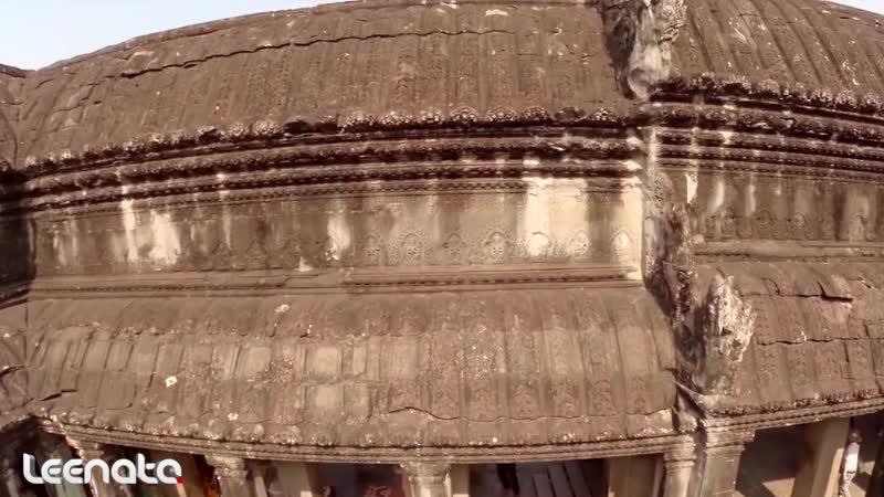 Leenata Cambodia temples Siem Reap 2020 Music Vitamin THC Leenata Take On The World John Charles Remix