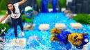 Valerias Kindergarten Paw Patrol Spielzeuge machen ein Training Tolles Video für Kinder
