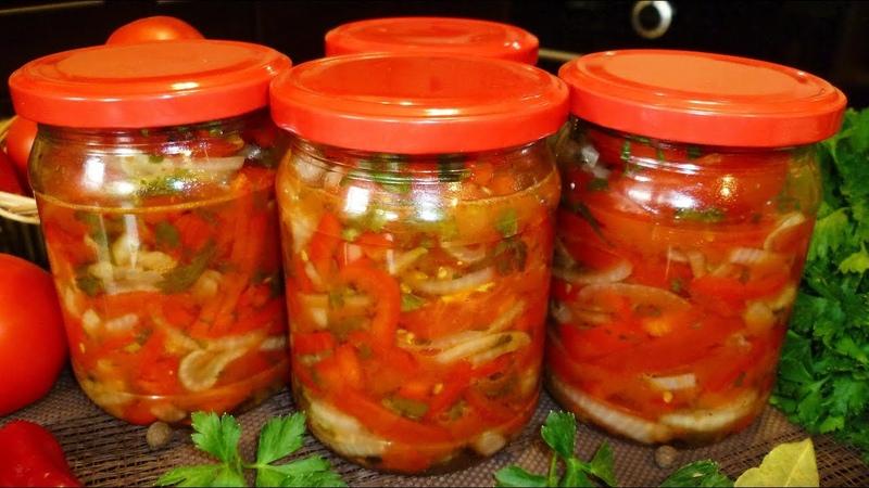 Овощной салат на зиму Донской