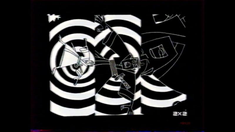 Фрагменты анонса Самурай Джек промо ролика и заставка ДАЛЬШЕ 2х2 октябрь 2007