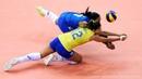 FAILS Volleyball Reception when SERVING Women's Volleyball
