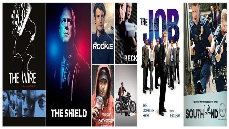 Лучшие сериалы про будни полицейских
