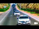 Кортеж Путина в Абу-Даби сопровождали автомобили с надписью «ДПС»