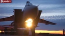 Russian Air Force MiG 31 fighters in night training