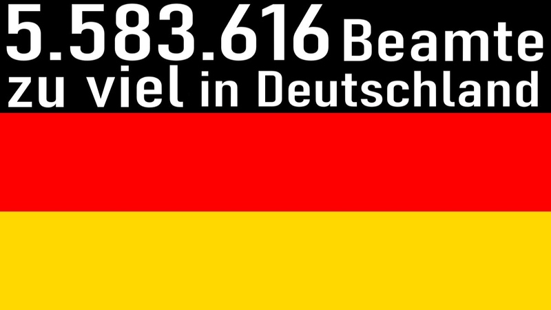 Über 5 Millionen Beamte zu viel in Deutschland laut neuester DWD Studie Dancing with Demons