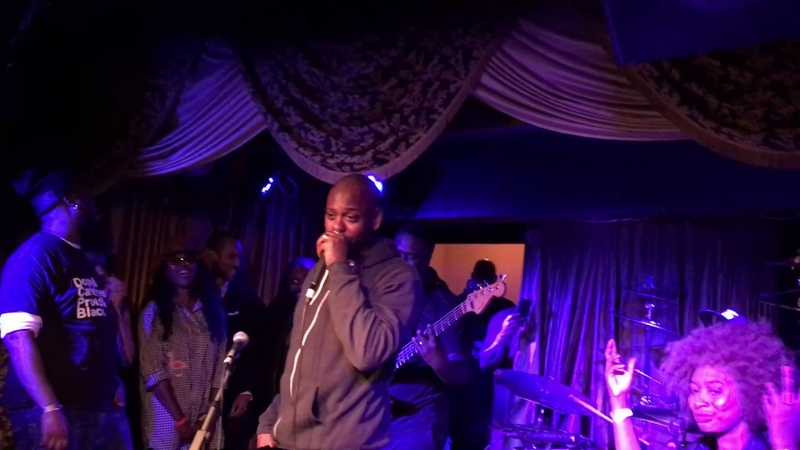 Robert Glasper, Derrick Hodge and Chris Dave do hard bop at Dave Chappelles request