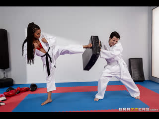 Brazzers fighting foot domination / kira noir & ricky spanish