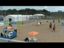 Beach volley Russia Kazan 2018 M 06 Firsov Vasilevsky and Bogatov Rakusov