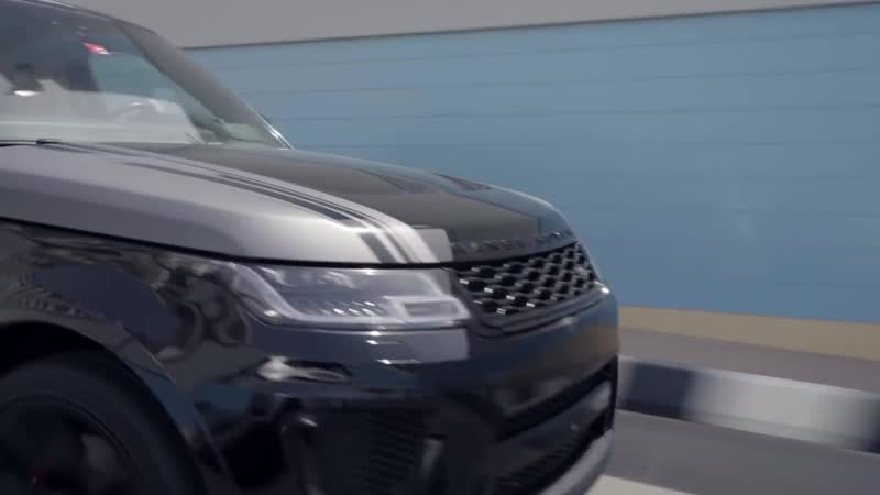 The Fastest Range Rover Ever ¦ Range Rover Sport SVR V8