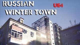 Russian Winter Town - Unreal Engine 4 Asset Pack