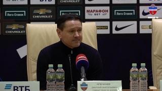 """Дмитрий Аленичев: """"Ребята играли с сумасшедшей самоотдачей"""""""