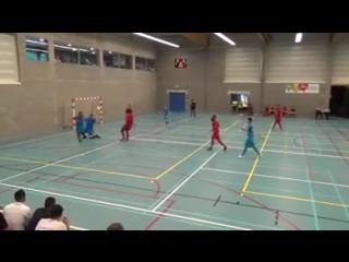 This is omar rahou (fp halle-gooik), the magic !! fantastic goal !!