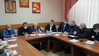 20. января 2021.совещание по вопросам организации деятельности в области обращения с ТКО