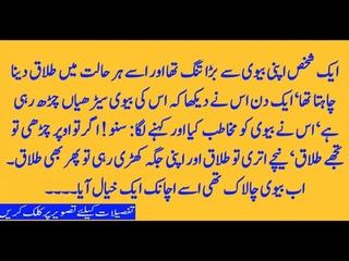 Chalak aur zaheen biwi Shohar Aur Biwi Ka Dilchesp Qisa Urdu Kahania asim ali tv