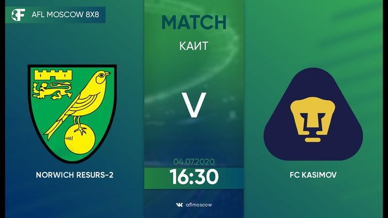AFL20 Euroleague C1 Day 2 Norwich Resurs 2 FC Kasimov