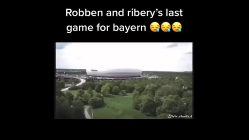 Роббен Рибери соңғы ойындары Последняя игра Роббен Рибери в Баварии