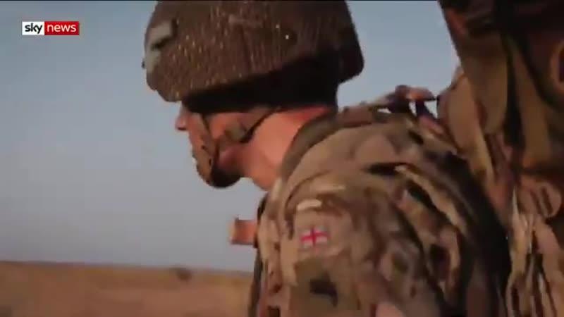 Репортаж Sky News про участие британцев в учениях Rapid Trident на укро территории