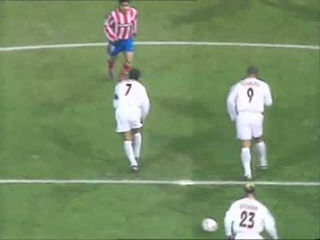 gol de Ronaldo en 14 segundos. Real Madrid vs Atletico de Madrid temp. 2003/2004