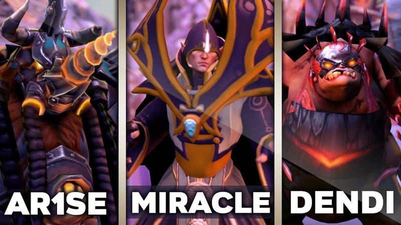 When Pro Players Play Their BEST Hero - Miracle Invoker, Arise Magnus, Dendi Pudge [NEW 7.23 Patch]