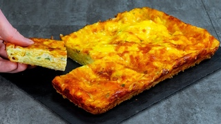 Новый способ приготовления пирогов! Пирог из лаваша с творогом бьет все рекорды! 