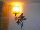 Lámparas y apliques de forja artistica Tofé Zarraton La Rioja