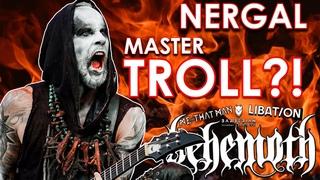 Adam Darski (Nergal) of Behemoth - Why is he successful?