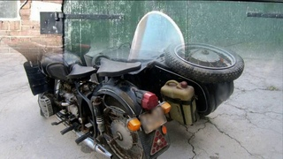 Крутой внедорожник с приводом на коляску - мотоцикл Днепр МТ-12