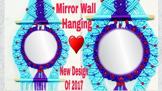 How To Make Macrame Mirror Wall Hanging  Easy Tutorial (Part 1)