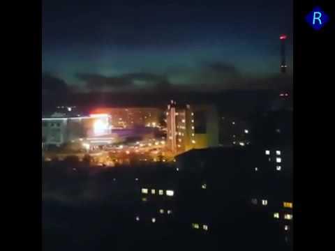 Взрыв на подстанции в Мурманске город без света