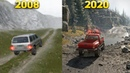 Evolution of Best Offroad Games From 2008 to 2020 - SnowRunner MudRunner and Spintires