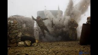 Морская пехота армия России вторая Чеченская война Разведка боем ч 1