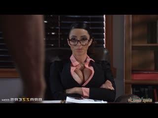 Ariella Ferrera - Секс судья, лысый из браззерс жестко трахает милфу MILF Big tits sex suck колумбийка colombian большие сиськи