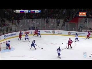 Россия - Словакия (ЧМ u18, Челябинск)